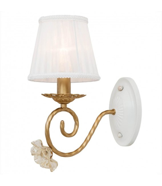 Настенный светильник (бра) Silver Light Benedict 736.43.1, белый/золото — Купить по низкой цене в интернет-магазине