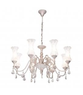 Подвесная люстра Silver Light Presto 711.51.8, белая патина — Купить по низкой цене в интернет-магазине