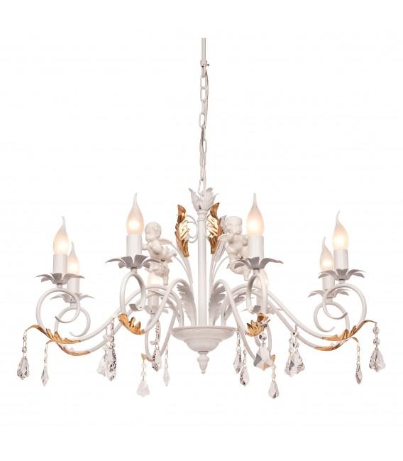 Подвесная люстра Silver Light Аngel 717.51.8, белая патина/золото — Купить по низкой цене в интернет-магазине