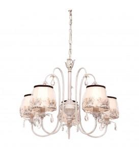 Подвесная люстра Silver Light Laura 718.51.5, белая патина/золото — Купить по низкой цене в интернет-магазине