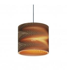Светильник подвесной Wishnya Velvet Round Mini 22 Zigzag, картон — Купить по низкой цене в интернет-магазине