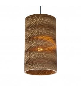 Светильник подвесной Wishnya Velvet Round 22 Zigzag, картон — Купить по низкой цене в интернет-магазине