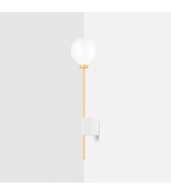 Светильник настенный (бра) Wishnya Suprematic Lanta, латунь и белый мрамор — Купить по низкой цене в интернет-магазине