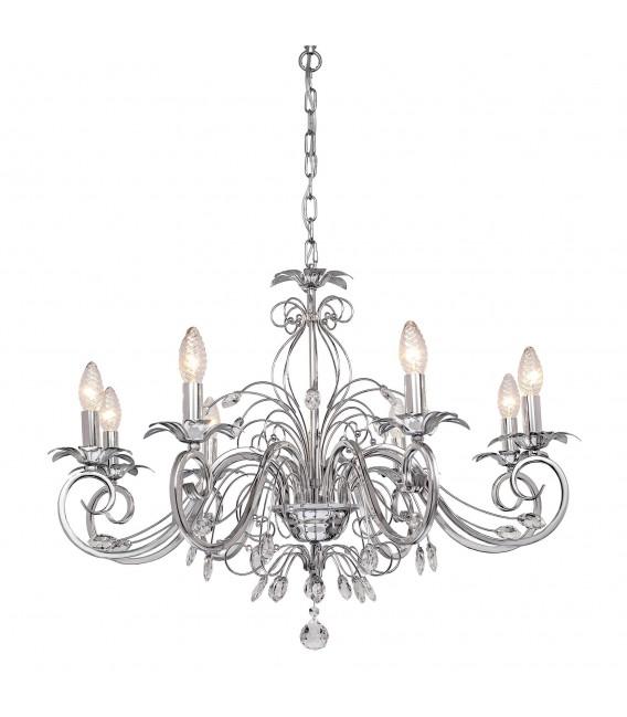 Подвесная люстра Silver Light Diana 725.54.8, хром — Купить по низкой цене в интернет-магазине