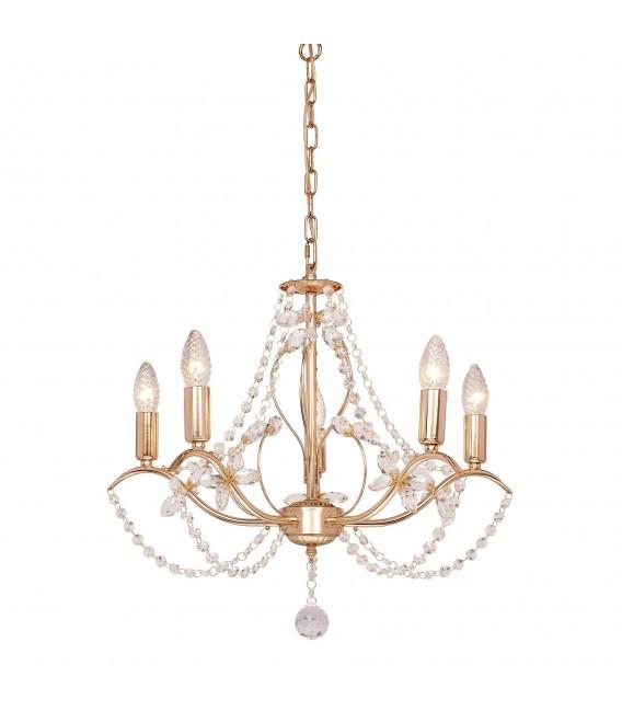 Подвесная люстра Silver Light Antoinette 726.58.5, золото — Купить по низкой цене в интернет-магазине