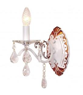 Настенный светильник (бра) Silver Light Tereziya 727.41.1, белая патина
