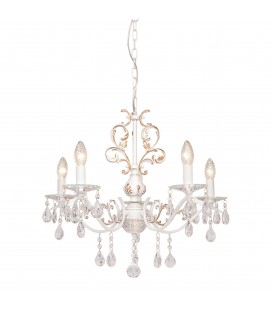Подвесная люстра Silver Light Tereziya 727.51.5, белая патина — Купить по низкой цене в интернет-магазине