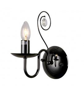 Настенный светильник (бра) Silver Light 121.49.1, чёрный жемчуг