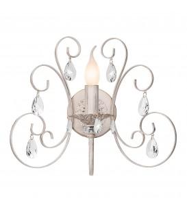 Настенный светильник (бра) Silver Light Vienna 155.41.1, белая патина/золото