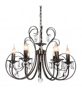 Подвесная люстра Silver Light Vienna 155.59.6, чёрный жемчуг — Купить по низкой цене в интернет-магазине