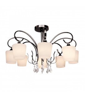 Потолочная люстра Silver Light Grace 249.59.8, чёрный жемчуг — Купить по низкой цене в интернет-магазине