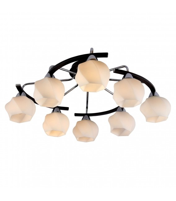 Потолочная люстра Silver Light 228.59.8, венге/хром — Купить по низкой цене в интернет-магазине
