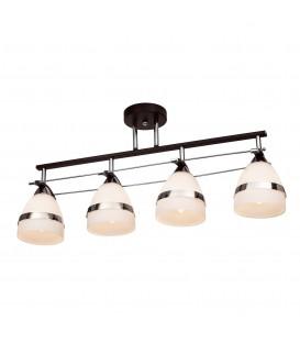 Потолочная люстра Silver Light 226.59.4, венге/хром — Купить по низкой цене в интернет-магазине