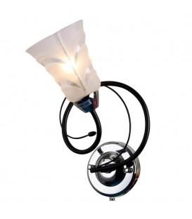 Настенный светильник (бра) Silver Light 242.49.1, чёрный/хром