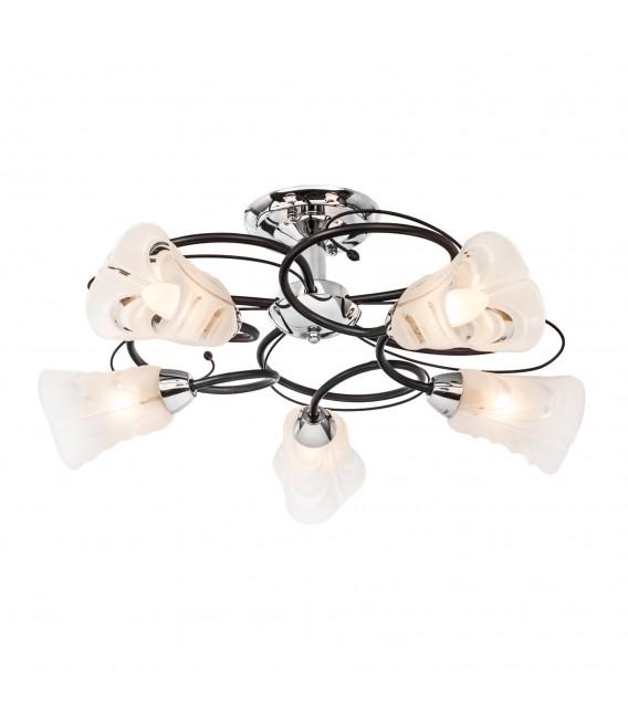 Потолочная люстра Silver Light 242.59.5, венге/хром — Купить по низкой цене в интернет-магазине