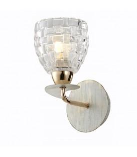 Настенный светильник (бра) Silver Light Demetra 705.41.1, белая патина/золото