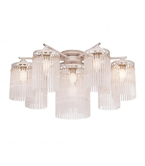Подвесная люстра Silver Light Venezia 712.51.8, белая патина/золото — Купить по низкой цене в интернет-магазине