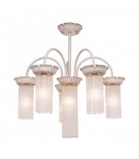 Подвесная люстра Silver Light Venezia 714.51.6, белая патина/золото — Купить по низкой цене в интернет-магазине