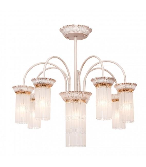 Подвесная люстра Silver Light Venezia 714.51.8, белая патина/золото — Купить по низкой цене в интернет-магазине