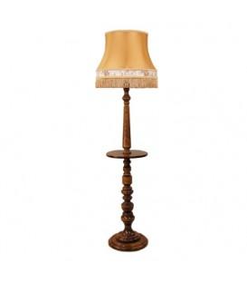 Торшер с деревянным столиком Neoretro ТБ06С.КЛ6А