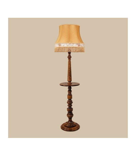 Торшер с деревянным столиком Neoretro ТБ06С.КЛ6А — Купить по низкой цене в интернет-магазине