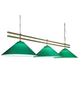 Бильярдный подвесной светильник Пермский Свет 301 Премьер, 3 абажура — Купить по низкой цене в интернет-магазине