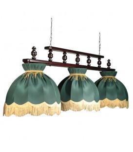 Бильярдный подвесной светильник Пермский Свет 304 Монарх, 3 абажура — Купить по низкой цене в интернет-магазине