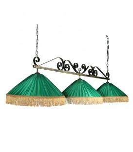Бильярдный подвесной светильник Пермский Свет 308 Верона, 3 абажура — Купить по низкой цене в интернет-магазине