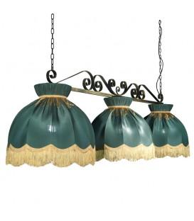 Бильярдный подвесной светильник Пермский Свет 309 Верона-2, 3 абажура — Купить по низкой цене в интернет-магазине