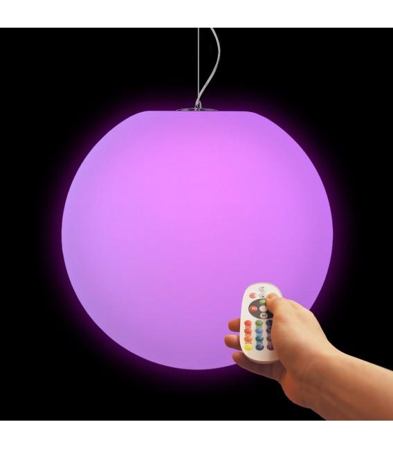Подвесной светильник Moonball P30, световой шар 30 см., разноцветный RGB — Купить по низкой цене в интернет-магазине