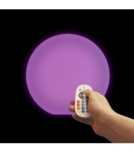 Беспроводной ночник Moonball W20, световой шар 20 см., разноцветный RGB, с аккумулятором — Купить по низкой цене в