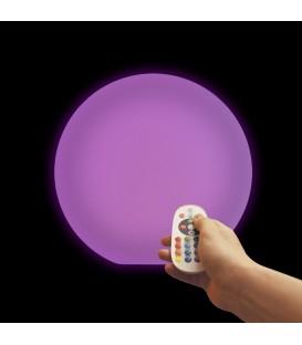 Беспроводной ночник Moonball W30, световой шар 30 см., разноцветный RGB, с аккумулятором — Купить по низкой цене в