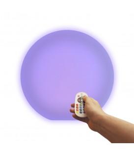 Беспроводной ночник Moonball W40, световой шар 40 см., разноцветный RGB, с аккумулятором — Купить по низкой цене в