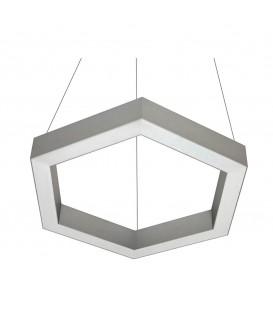 Светильник подвесной Orled Line Hexagon 40, светодиодный, 40 Вт. — Купить по низкой цене в интернет-магазине