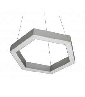Светильник подвесной Orled Line Hexagon 130, светодиодный, 130 Вт. — Купить по низкой цене в интернет-магазине