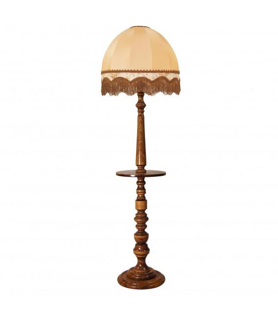 Торшер с деревянным столиком Neoretro ТБ06С.ПС8А — Купить по низкой цене в интернет-магазине