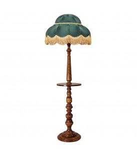 Торшер с деревянным столиком Neoretro ТБ06С.ПС4
