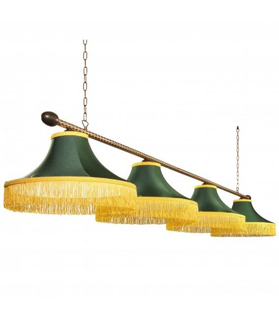 Бильярдный подвесной светильник Neoretro ЛБ34.КЛ12, 4 абажура — Купить по низкой цене в интернет-магазине