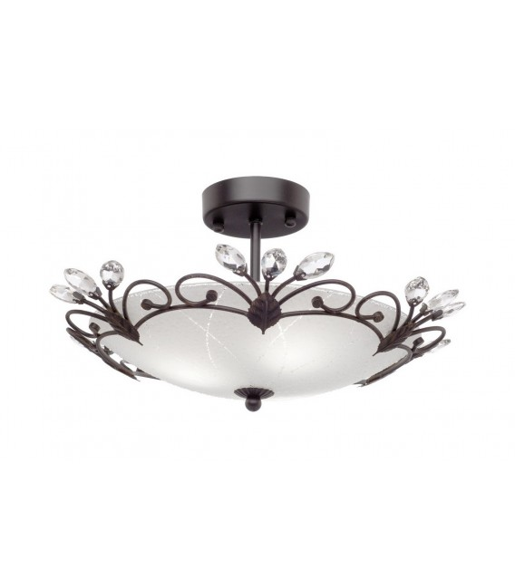 Светильник потолочный Silver Light Lotos 838.59.3, венге — Купить по низкой цене в интернет-магазине