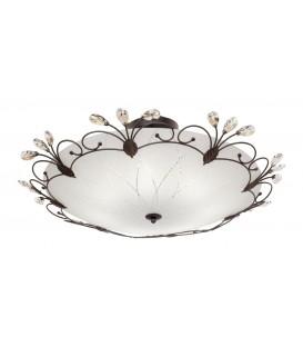 Светильник потолочный Silver Light Lotos 838.59.7, венге — Купить по низкой цене в интернет-магазине