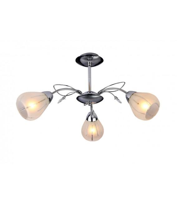Потолочная люстра Silver Light 203.54.3, хром — Купить по низкой цене в интернет-магазине