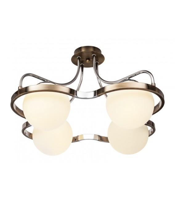 Потолочная люстра Silver Light 210.53.4, бронза/хром — Купить по низкой цене в интернет-магазине