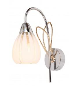 Настенный светильник (бра) Silver Light 216.48.1, хром/золото