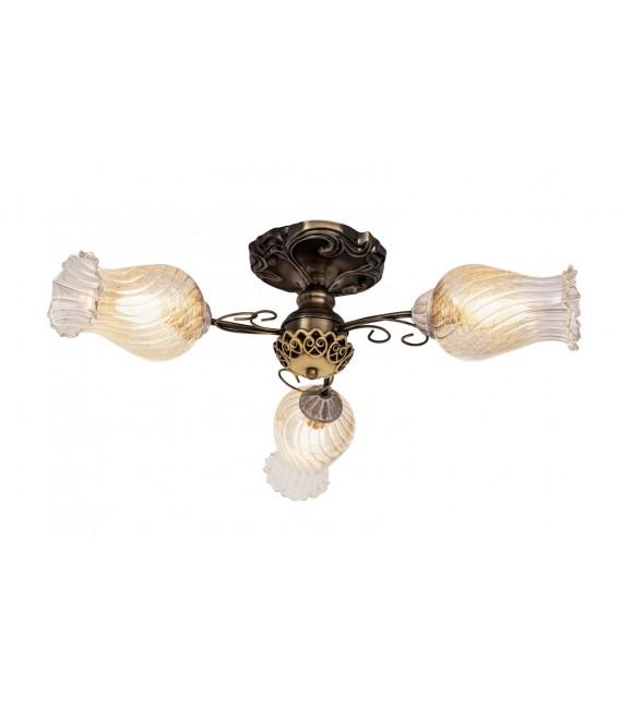 Потолочная люстра Silver Light Munich 509.53.3, бронза/белая патина — Купить по низкой цене в интернет-магазине