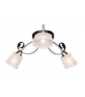 Потолочная люстра Silver Light 232.59.3, венге/хром — Купить по низкой цене в интернет-магазине