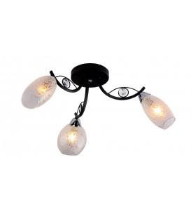 Потолочная люстра Silver Light 236.59.3, венге/хром — Купить по низкой цене в интернет-магазине