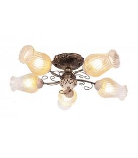 Потолочная люстра Silver Light Munich 509.53.5, бронза/белая патина — Купить по низкой цене в интернет-магазине