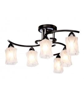 Потолочная люстра Silver Light 239.59.6, венге/хром — Купить по низкой цене в интернет-магазине