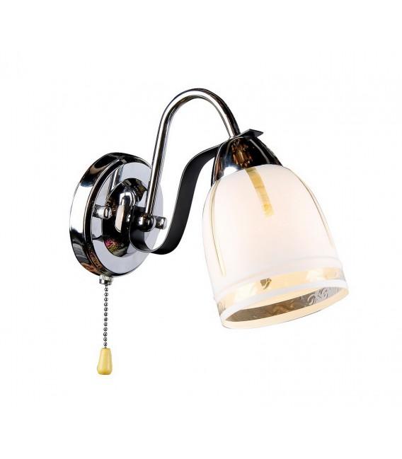 Настенный светильник (бра) Silver Light 243.49.1, венге/хром — Купить по низкой цене в интернет-магазине