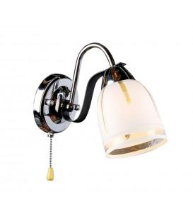 Настенный светильник (бра) Silver Light 243.49.1, венге/хром